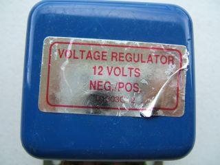 V6 12V Negative Positive Ground Voltage Regulator D1303G 2 Ford Tractor