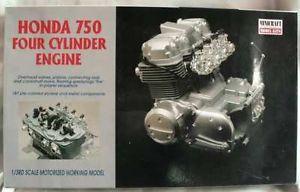 Minicraft Honda 750 4 Cylinder Engine Model Kit 1 3