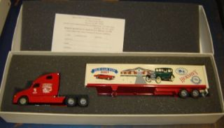 Model Diecast 1 64 Tractor Trailer Promotional Advertising Truck 2001 Old Car