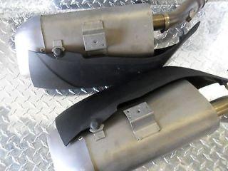 09 13 Yamaha R1 Exhaust Muffler OEM