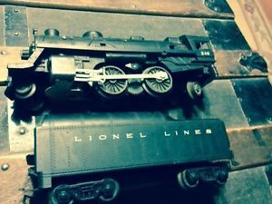 Vintage Lionel Train Set Locomotive Engine 246 Nice Shape