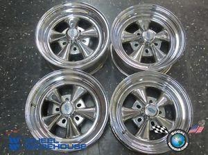 Four Chevy Ford Dodge Cragar SS Chrome 15 Wheels Rims 15x7 5x4 5 5x4 75 5x5