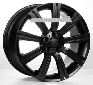 """22"""" IN358 BK for Land Range Rover Wheels and Tires Rims HSE Sports Supercharged"""