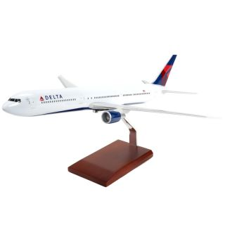 Delta Airlines 1 100 Boeing 767 400 Desk Top Display Model Jet Aircraft Airplane