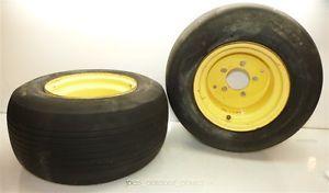John Deere 2x4 Gator Turf Carlisle 20x10 00 10 Front Tires Rims