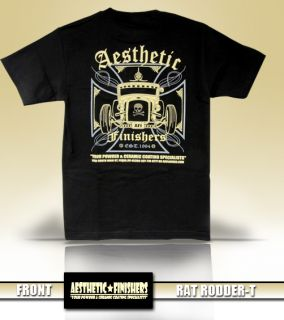 Aesthetic Finishers Rat Rod Roadster T Shirt