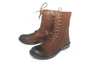 Harley Davidson Custer Mens Brown Leather Motorcycle Boots Size 11 5