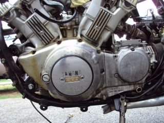 1986 Yamaha Venture 1300 Motor Engine Wheels Frame Video Running Cafe Project 87
