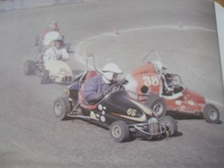 1967VINTAGE Midgets Race Book Go Kart McCulloch Bug Dart Fox Minibike Engine Car
