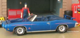 1970 Pontiac GTO Judge RAM Air IV Conv Opening Hood RRs 1 64 Diecast 1 3500