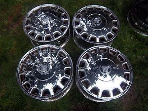 16 Cadillac Seville Eldorado STS Chrome Factory Rims Wheels DeVille cts 4512