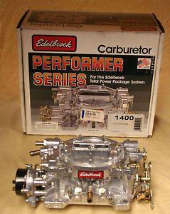 Edelbrock 1400 600CFM Carburetor New Open Box