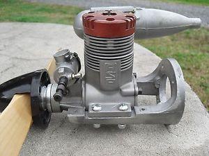 Used ASP 108 Glow Fuel RC Airplane Engine MRE USA