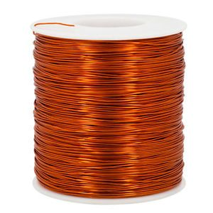 Orange Copper 24 Gauge AWG Enameled Magnet Wire Tattoo Coils Winding 800 ft 1lb