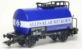"""Spur H0 Märklin 4642 Kesselwagen """"Alles Klar Mit Korn"""""""