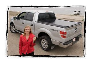 """Powertraxone Retrax Electric Truck Bed Cover Chevy GMC 07 5'8"""""""