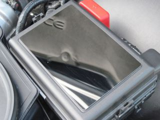 Pontiac Solstice Saturn Sky Fuse Box Cover Polished Stainless Mirror All Model