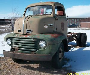 1949 Ford f6 COE Cabover Truck C O E for Parts