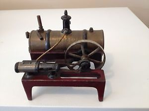 Antique 1900 Weeden Toy Mini Steam Engine Vintage Toy Tractor Farm Steel Toy