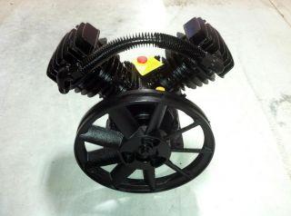 Twin Cylinder V Style Air Compressor Pump 3HP 2 Piston Motor Head