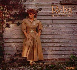 Reba McEntire Whoever's in New England New Promo LP