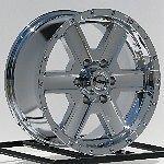 17 inch Chrome Wheels Rims GMC Sierra Yukon Truck SUV Suburban Hummer H3 6 Lug