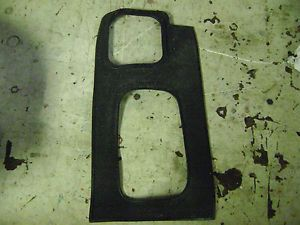 Land Rover Discovery II Rubber Shifter Trim Surround Mat Dash 99 04 01 02 03 B11
