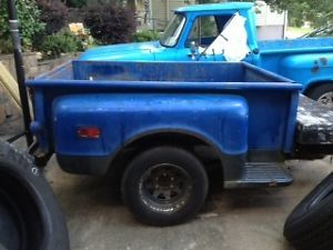 67 72 Chevy Pickup Truck Short Box Bed Shortbox Stepside Step Side