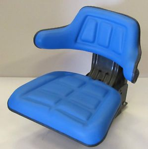 New Suspension Tractor Seat Universal Ford New Holland Massey John Deere Blue