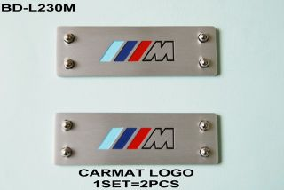 BMW E30 E32 E36 E46 E60 E90 x3 x5 x6 F10 M1 M3 M5 Floor Mat Badge Carpet Emblem