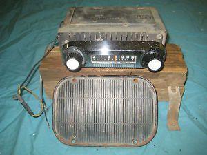 61 62 63 64 65 66 Ford Truck F100 Radio 66 77 Bronco Dash Speaker Grille Cover