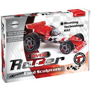 Technokits Rivetz Build Your Own DIY Racing Car Model Construction Kit 068634