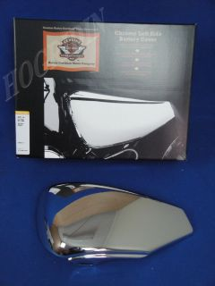 Harley Davidson XL 1200 883 Sportster Hugger Nightster Chrome Battery Side Cover