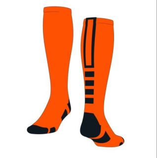 Baseline 2 0 Elite Socks Orange Black Medium proDRI Knee High NIP