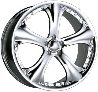 "18"" Chrome Wheels Rims Toyota Camry Venza Rav 4 Nissan Maxima Altima 5x114 3"