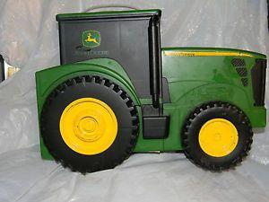 Ertl John Deere Tractor Plastic Carrying Storage Case