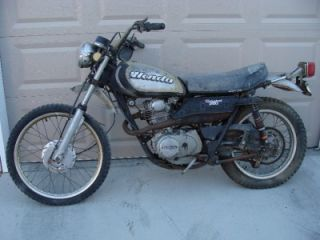 1972 Honda XL 250 Gear Shifter Foot Lever XL250