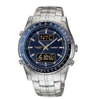 Casio Analog Digital Dual Time Alarm Watch MTP4700D 2AV