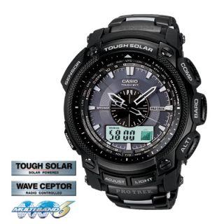 New in Box Casio PROTREK Tough Solar PRW5000YT 1 Multiband 6 Limited Watch