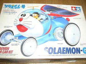 Tamiya Doraemon Solar Car Model Kit Motorized
