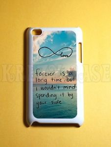 Cute Forever Love Infinity iPod Touch 4 Case 4th Gen iPod Touch Cases