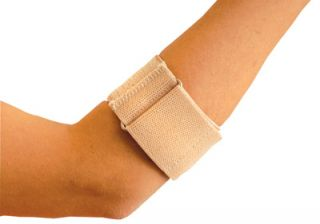 New OccuNomix Beige Tendonitis Tennis Elbow Brace Tennis Elbow Support Strap