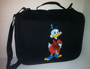Disney Trading Book Pin Bag Uncle Scrooge McDuck Duck $ Money Large Display Case