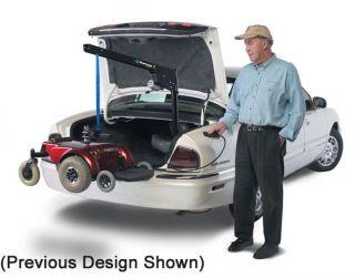 Harmar AL055 Scooter Wheelchair Powerchair Mobility Lift Trunk Medical Hoist