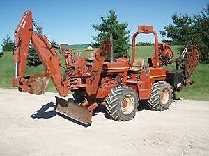 Ditch Witch 8020 Trencher Backhoe Combo for Sale