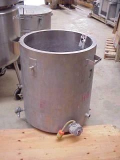 50 Gallon Stainless Steel Portable Tank Kettle w Heater
