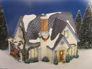 "New in Box Department 56 ""Hidden Ponds House"" Original Snow Village 56 54944"