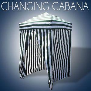 Pop Up Changing Room Pool Cabana
