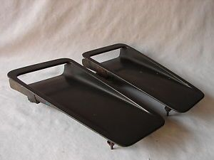 87 88 Ford Thunderbird Trim Panel Turbo Coupe Hood Scoop Scoops Pair Set