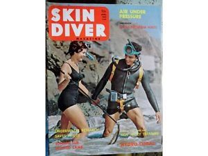 1962 April Skin Diver Magazine Treasure NJ